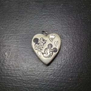 Mickey and Minnie Heart Locket
